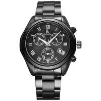 IK שעות חיוג בקנה מידה מספר רומי שעונים אוטומטיים SelfWind תת תכליתי שבוע זוהר לוח שנה הולו חזור פלדת גברים שעונים