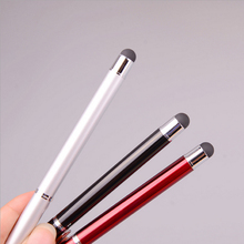 wholesale Capacitive Screen Touch Pen 2in1 Stylus Ballpoint Pen for IPad IPhone customized logo for you laser pen