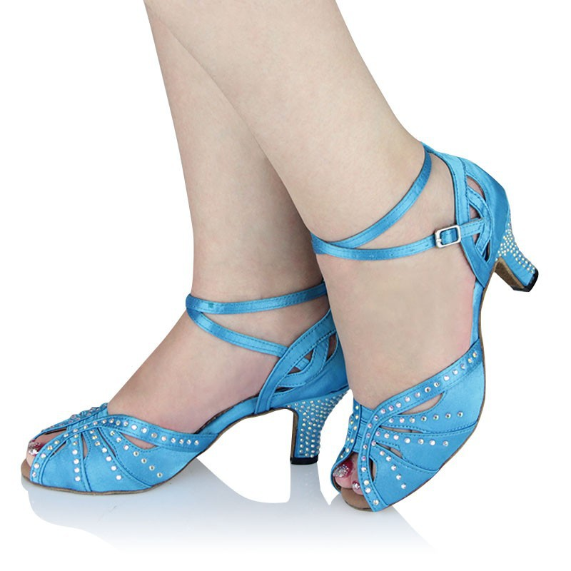 Samba latin dance shoes women girls Satin dance legend ladies shoes ballroom dance shoes with soft cow suede outsole XC-6370 latin canvas dance women shoes female adult social modern shoes with leather soft soled shoes women square dance shoes