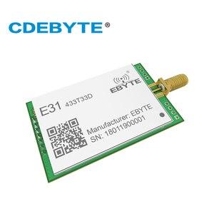 Image 3 - E31 433T33D AX5043 UART 433 mhz 2W SMA Antena de Longo Alcance Monte uhf Transceptor Sem Fio 433 mhz Receptor Transmissor rf módulo
