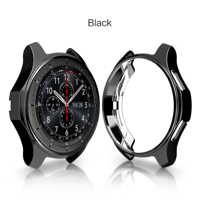 SIKAI Hard TPU High-quality Watch Case for Samsung Gear S3 Frontier Anti-fall Protective Shell for Samsung Gear S3 Watch Cover | Watchbands