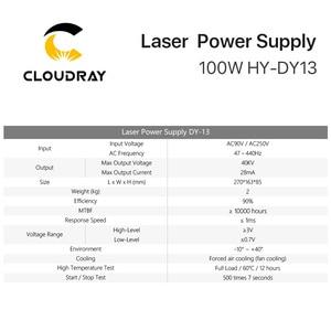 Image 5 - Cloudray DY13 Co2 レーザー電源reci Z2/W2/S2 Co2 レーザー管彫刻/切断機dyシリーズ