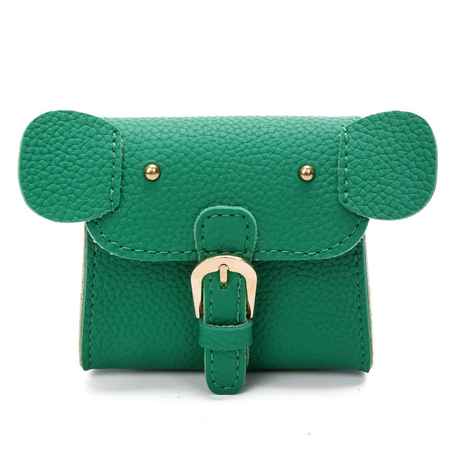 5ddc7bc6fe52 New Cute Child Kids Girls Little Elephant Animal Shape Mini Crossbody Bags  Pu Leather Shoulder Bag Candy Coin Purse Handbags