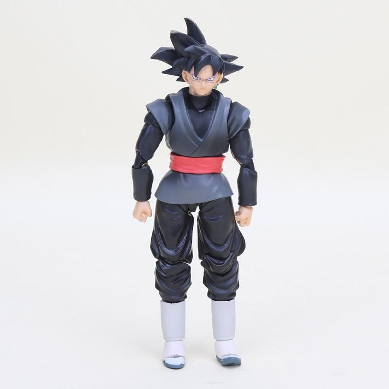 กล่อง 6 ชิ้น Figurine Dragon Ball Z ตัวเลขของเล่น Super Saiyan Son Goku Gokou Vegetto Freeza Trunks Action Figure Collection รุ่น-ใน ฟิกเกอร์แอคชันและของเล่น จาก ของเล่นและงานอดิเรก บน   3