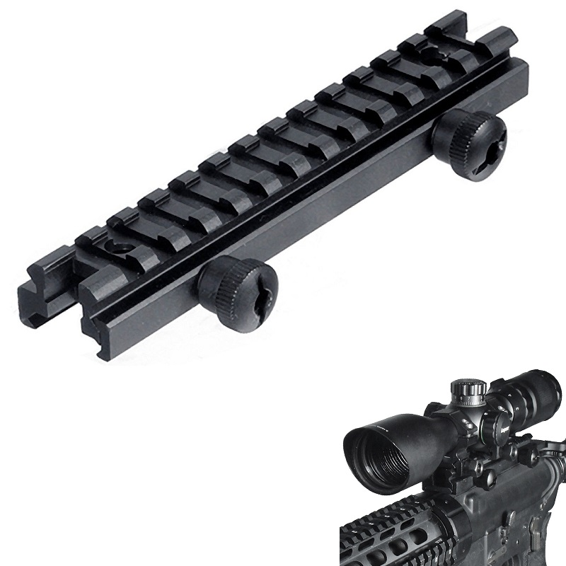 Tactical Low Profile Picatinny Riser Mount (0.5