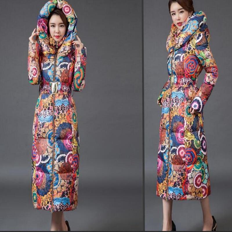 2017 new Long coat font b womens b font font b jacket b font new printing