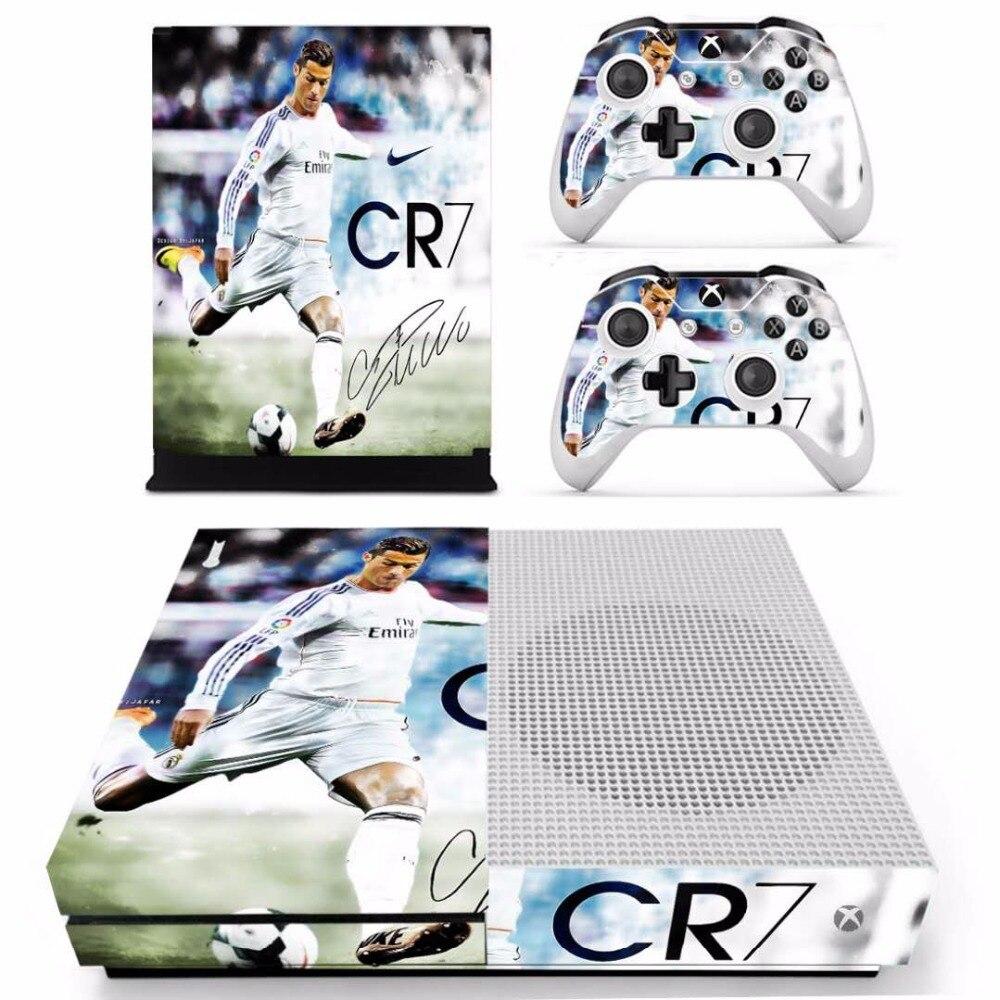 Cristiano Ronaldo Und Messi Haut Aufkleber Für Microsoft Xbox One S Konsole Und 2 Controller Für Xbox One S Haut Aufkleber