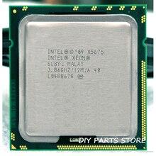 Intel XONE X5675 Enam Core 3.06 MHz LeveL2 12M Bekerja untuk LGA 1366 Montherboard
