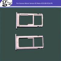 SIM carte ou Fente Pont ou SD Carte Pour lenovo Musique citron K5 Note/5.5 pouces/K52t38 K52e78 livraison Gratuite