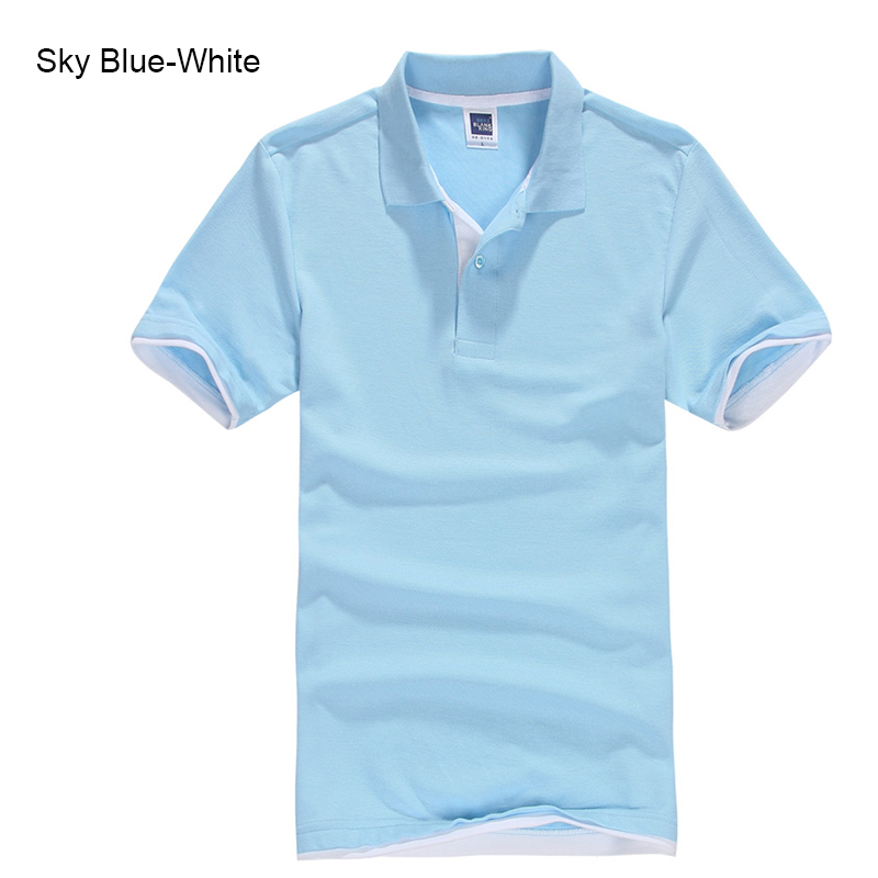URSPORTTECH Men s Polo Shirt For Men Desiger Polos Men Cotton Short Sleeve shirt Clothes jerseys