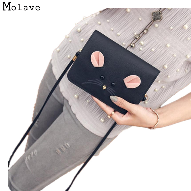 Naivety 2017 Women Handbag Cute Rat Satchel Bag PU Leather Purse Shoulder Messenger Tote 30S7426 drop shipping ontario knife rat 1
