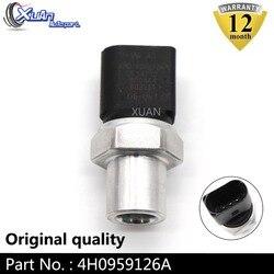 XUAN samochodów klimatyzacja przełącznik ciśnienia AC czujnik ciśnienia 4H0959126A dla Audi A3 A4 A5 A6 A7 A8 Quattro Q5 S3 s5 SQ5 R8 RS5 w Przełączniki i przekaźniki samochodowe od Samochody i motocykle na
