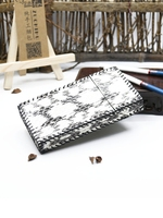 Fashion Ultra Thin Genuine Natural Snake Skin Women Cigaret Slim Clamshell Exquisite Gift Box Cigarette Protective Case