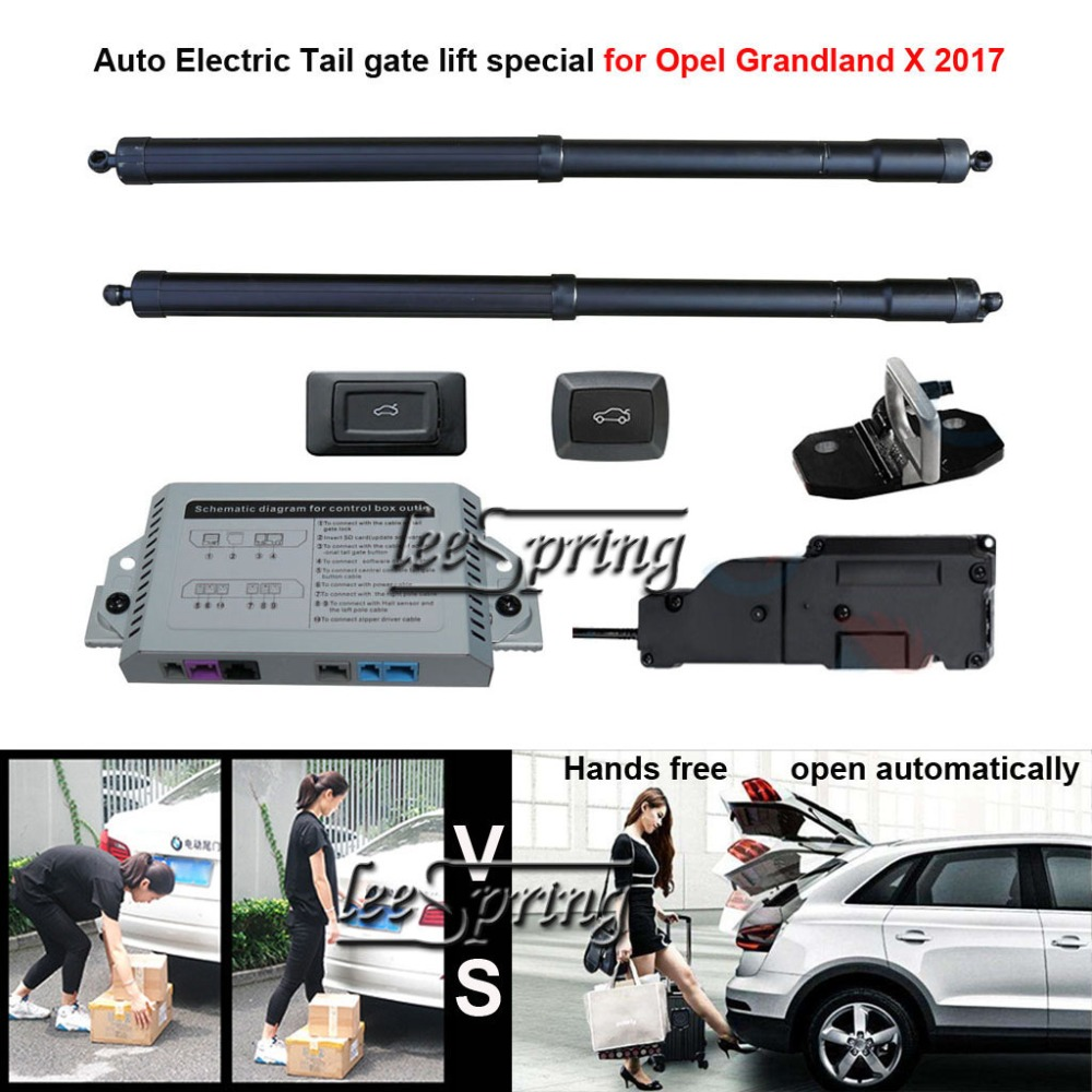 Car Electric Tail Gate Lift Special For Opel Grandland X 2017 Easily For You To Control Trunk