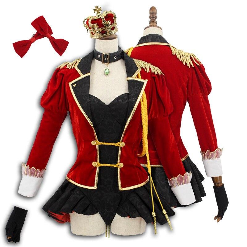 63b0d99572 US $45.88  Anime! Fate Grand Order Nero Saber Glittering Ceremonial Dress  Battle Suit Idol sj Uniform Cosplay Costume For Women Free Ship on ...