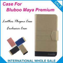 5 Colors Hot!Bluboo Maya Premium Case Fashion Business Magnetic clasp Flip Leather Exclusive Case For Bluboo Maya Premium Cover