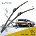 "Wiper blade for Opel Astra J (from 2010 onwards) 27""+25""R fit push button type wiper arms"