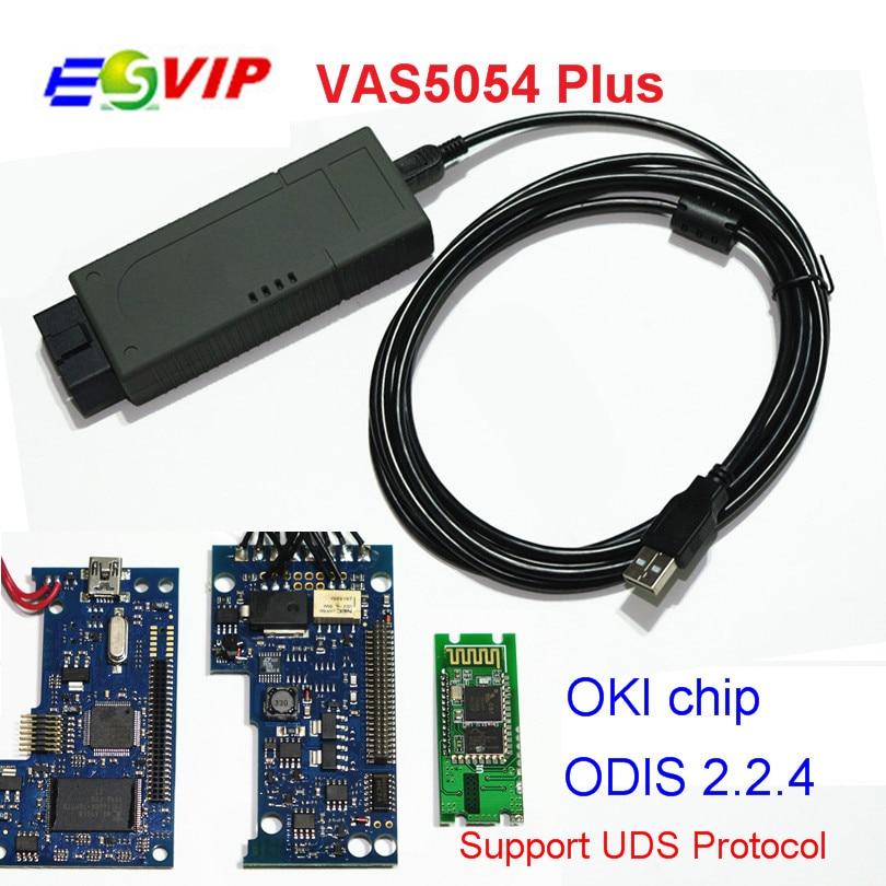 Действие vas5054a DHL плюс OKI полный чип ОДИС В4.13 инструмент 5054a он-Блютуз вас диагностических 4.13