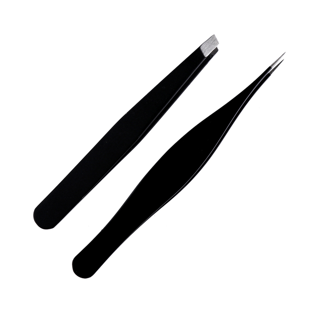 Women's Eyebrow Tweezer 2 Pcs Set