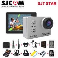SJCAM SJ7 звезды Wifi действие Камера Ambarella A12S75 4 К 30fps гироскопа 2,0 дюймов Сенсорный экран видеокамер Спорт Дайвинг SJ 7 mini DV CAM