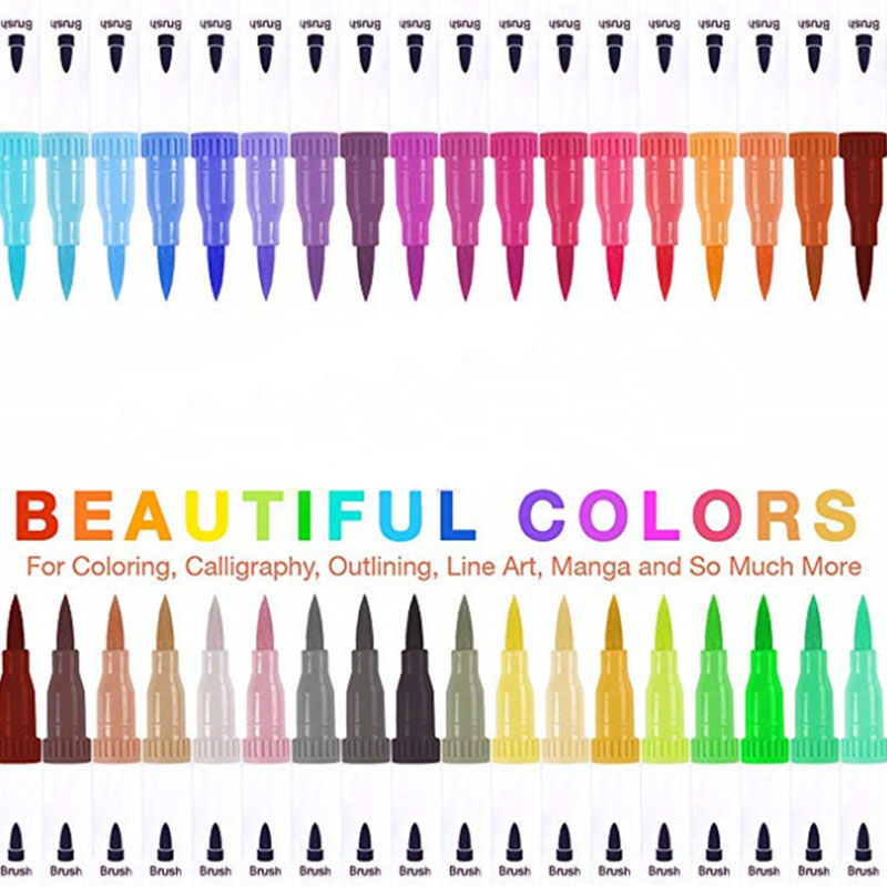 100 Colors Sketch Marker Pen Double Head For Artist Animation Marker Copic Oil Touchcool Paint Pens