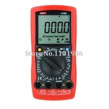 UNI-T UT58E w/ Frequency Temperature Test LCR Meter Modern Manual Range Digital Multimeters Ammeter Multitester DMM