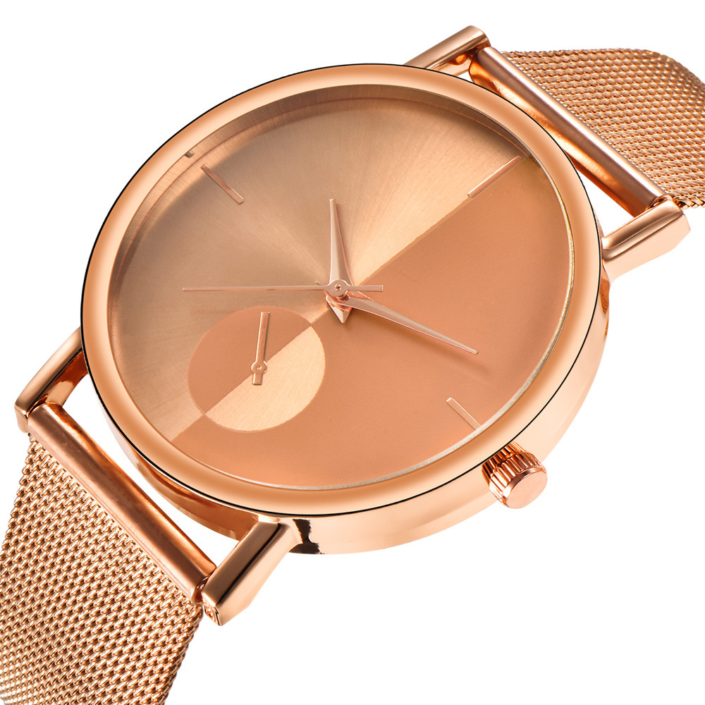 2018 Womens Fashion Classic Gold Black Silver Quartz Stainless Steel Wrist Watch Bracelet relogio feminino bayan kol saati womens bayan kol saati fashion butterfly style leather band analog quartz wrist watch ladies watch relogio feminino horloge