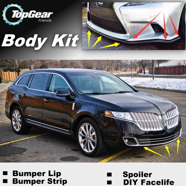 Bumper Lip Deflector Lips For Lincoln Mkt Town Car Livery Hearse