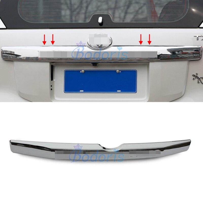 Pour Toyota Land Cruiser Prado 150 LC150 FJ150 2014 2015 2016 2017 2018 Chrome arrière coffre Streamer garniture voiture style accessoire