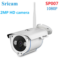 Sricam SP007 1080P HD IP Camera IR Night Vision Motion Detection 128G Card 2MP Outdoor Security Camera CCTV Surveillance Camera