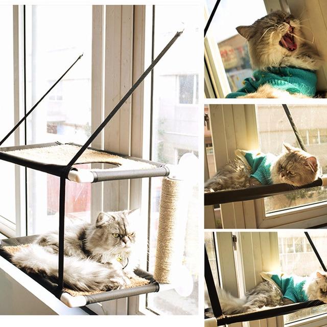 Katze Balkon Hangematte Haustier Katze Klettern Schlafen Matratze