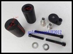 Czarne oprawki suwak Fairing ochraniacze bez cięcia dla Suzuki GSXR GSX-R 600 750