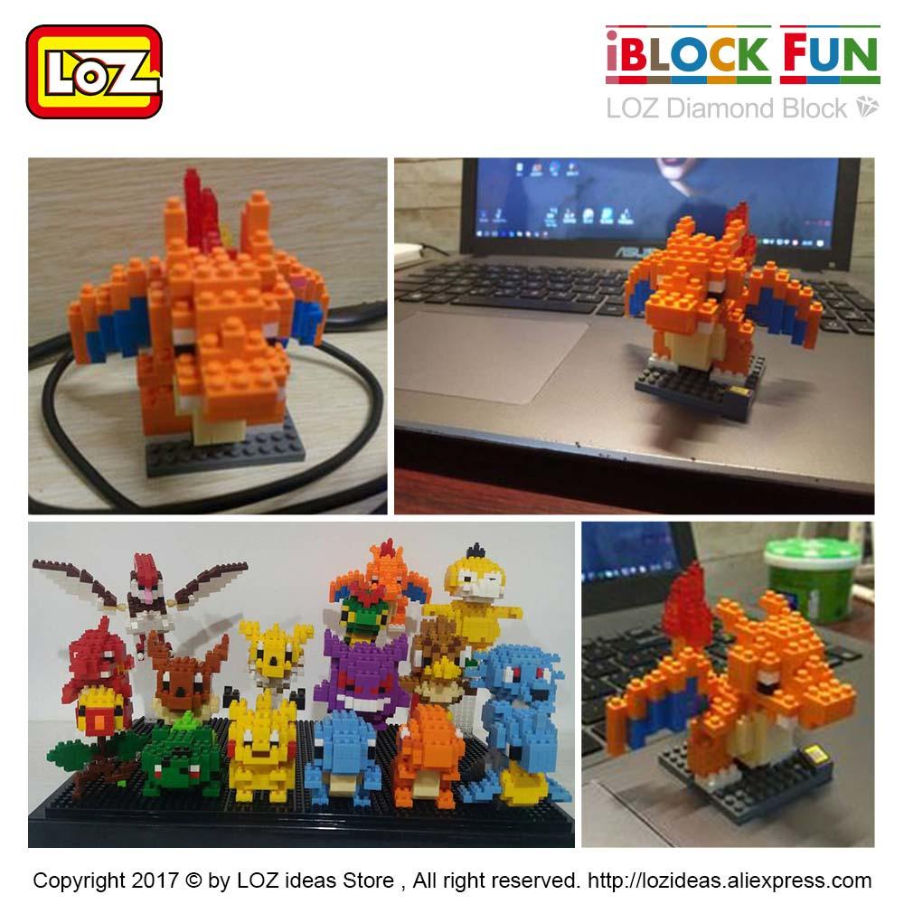 LOZ Diamond Mini Building Blocks Action Figure DIY Diamond Block Buildings Game Enlighten Brick Toys Adults Figuring Nano 9143