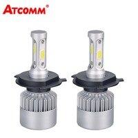 S2 H7 LED Car Bulb H1 Auto Headlights H3 H11 H8 H9 H13 HB3 HB4 H27