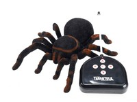 New Arrival Infrared RC Tarantula Realistic Spider with Lighting Remote Control Simulation Scary Toys Electronic Pets Gift