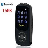 New Original RUIZU X06 Bluetooth Sports MP3 Music Player 8G 100hours High Quality Lossless Recorder Walkman