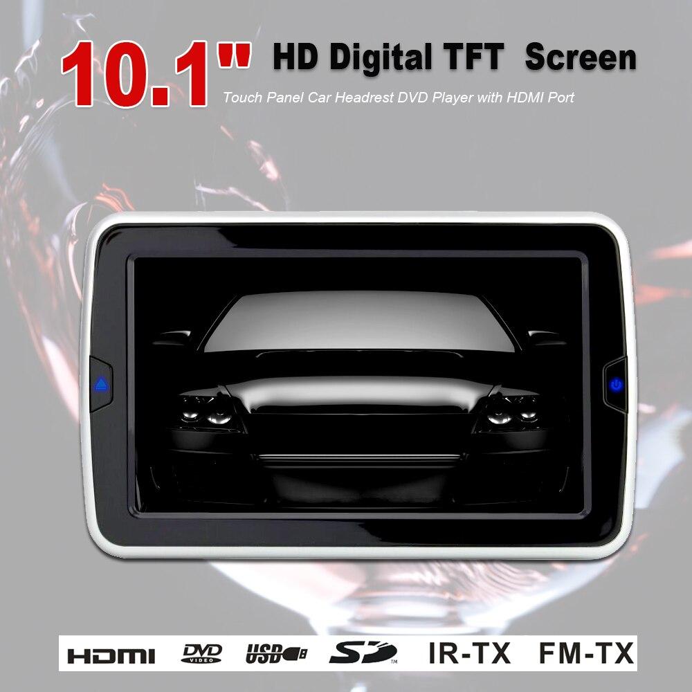 """10.1""""HD цифровой TFT Слот Кронштейн автомобиля DVD-плеер"""