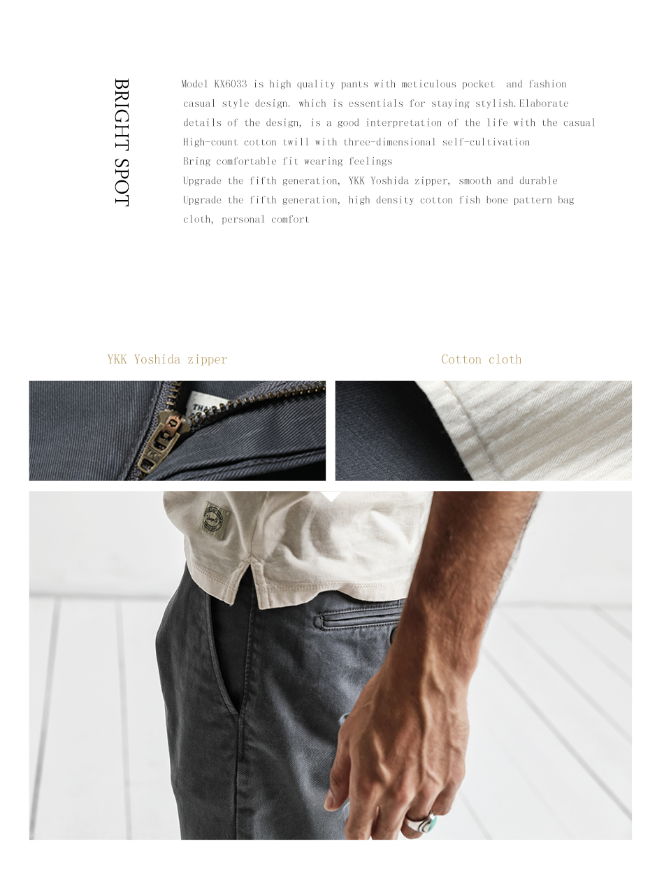 1e5387c4bc89d SIMWOOD 2018 Spring Summer New Casual Pants Men Cotton Slim Fit ...
