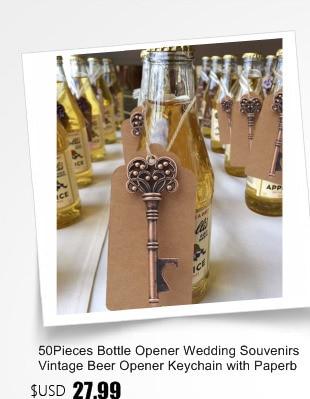 Vintage Alloy Bottle Opener Barware Wedding Party Babby Shower Favors Gift