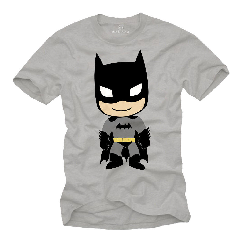 COOL BAT NERD MENS T SHIRT WITH HERO MAN - SHORT SLEEVE GEEK MOVIE TEE Fashion Print T-S ...
