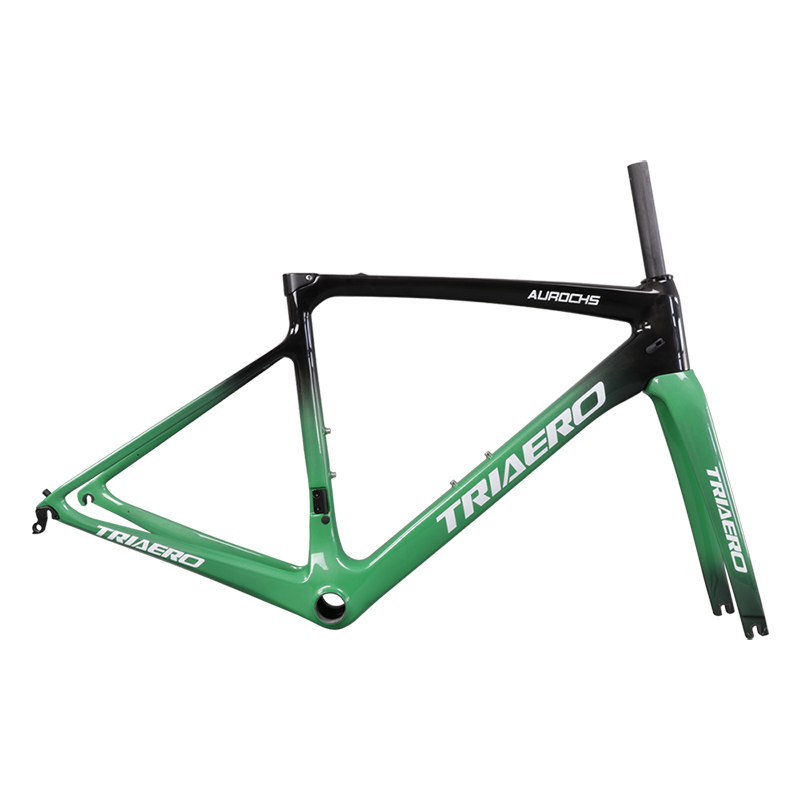Ican Full Carbon Frame AERO Road Bike Frame With Direct Mount (Braze -on) BB86