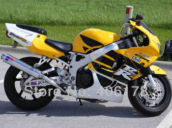 CBR900 RR 98 99 abs plastic fairings kit For CBR900RR 919 1998 1999 Yellow White Black Motorcycle Fairing Kit