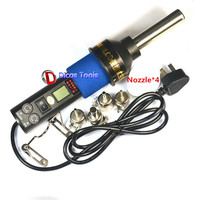 220V 240V 450W 450 Degree LCD Portable Heat Gun Adjustable Electronic Heat Hot Air Gun Desoldering