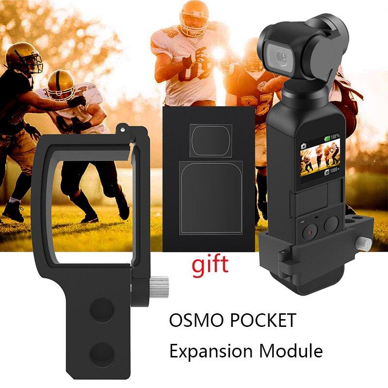 DJI Osmo Pocket Handheld Gimbal Expansion Adapter Camera Stabilizer Mount Holder Converter Extension Module Connector Block Part