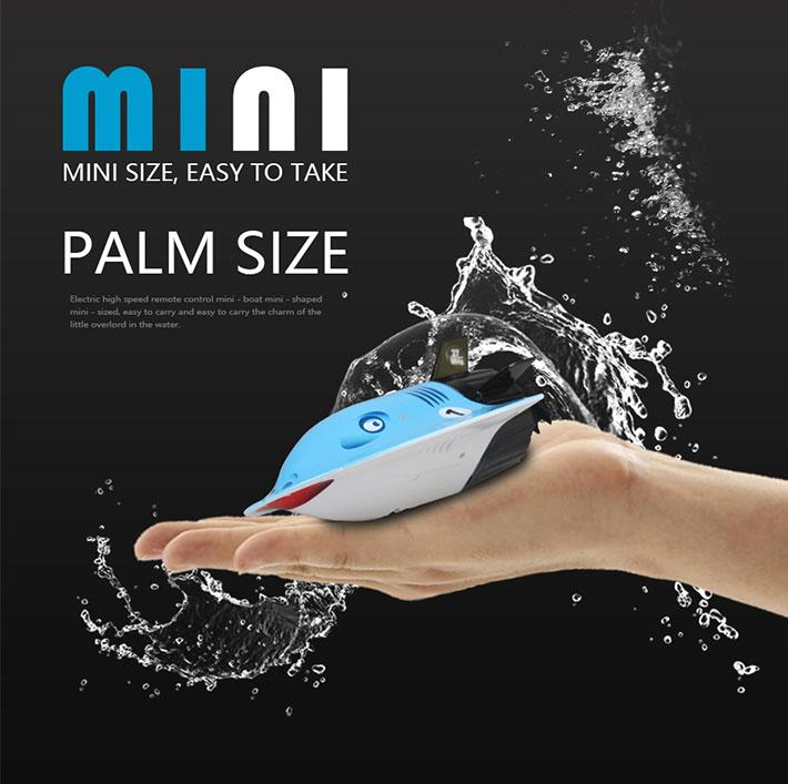 Mini Remote Control 2.4G Rechargeable Diving Electronic Submarine Child Kids Toy