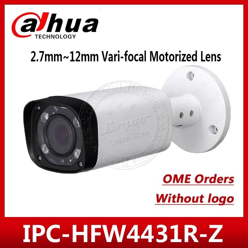 Dahua IPC-HFW4431R-Z OEM Version 2.8-12mm 4MP Bullet Camera No Logo Color Box