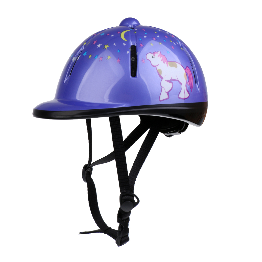 Купить с кэшбэком Adjustable Horse Riding Hat Ventilated Helmet Horse Riding Equipment Body Protectors For Kids Childs Toddlers PVC