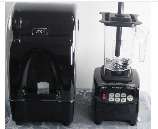 900W 3HP JTC Omniblend TM-800AQ (Omni-Q) Quiet commercial professional bar smoothie blender Mixer Juicer with sound cover блендер для сухого молока 3hp 38000 2 jtc omniblend tm 800aq tm 800aq