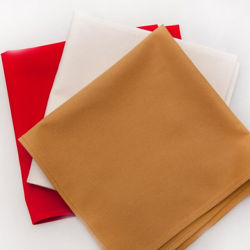 4pcs western dinner serviette cotton table napkin hotel folding napkin home cloth vintage napkinchina