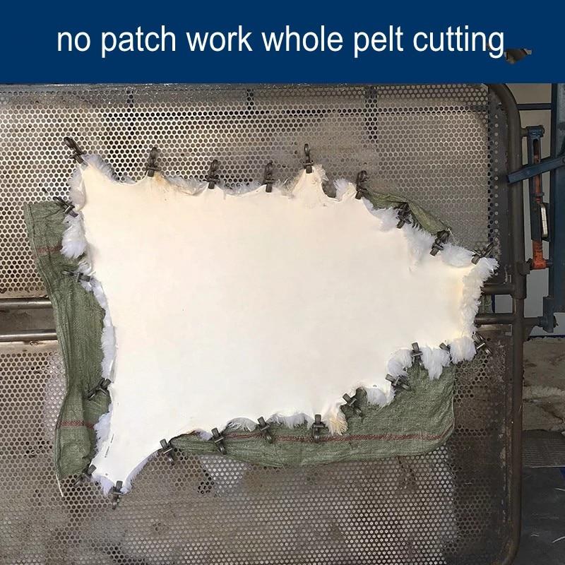 Origjinale e Shepëve Pelt të punuar me dorë bezhë të bardhë - Tekstil për shtëpi - Foto 4